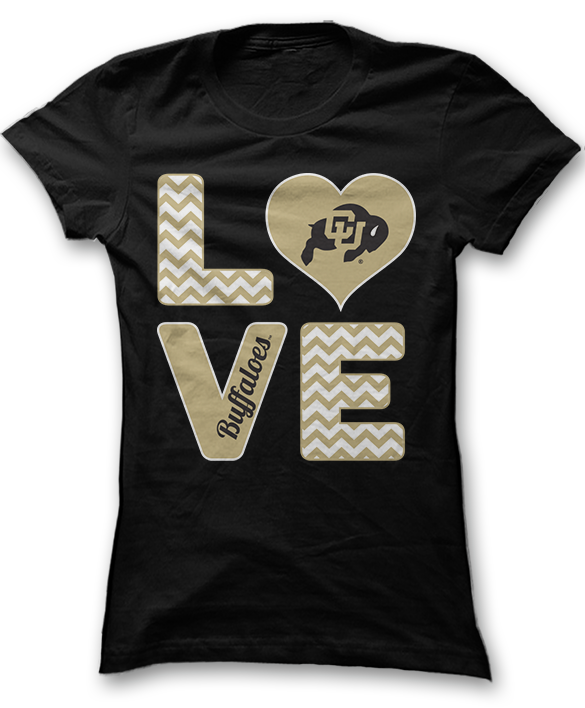 Stacked Love - Colorado Buffaloes