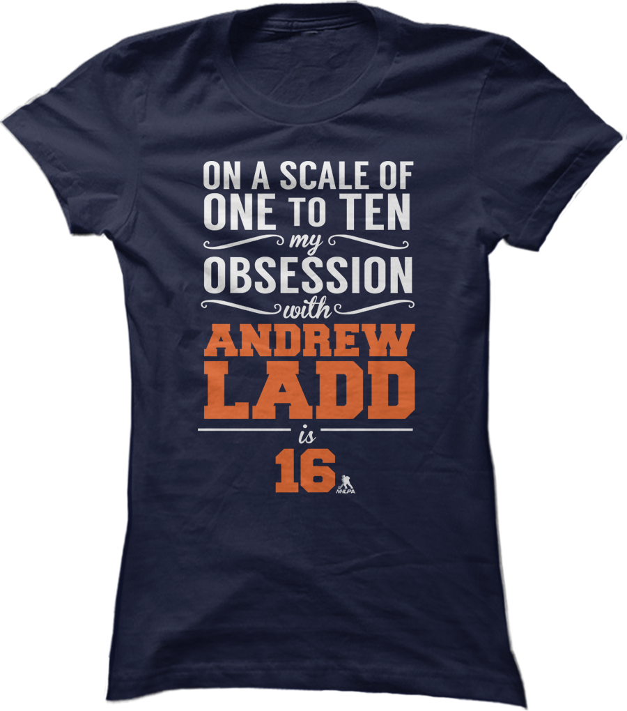 My Obsession From 1 to 10 With Andrew Ladd is 16
