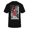 Yadier Molina - Player And Nation Flag - Back - T-Shirt - Officially Licensed
