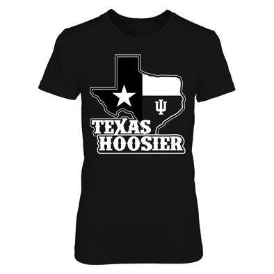 Indiana Hoosiers - Texas Hoosier - Next Level Women's Junior Fit Premium T-Shirt - Official