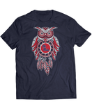 Sugar Skull Owl - Ole Miss Rebels