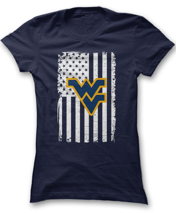 Show Your Pride - West Virginia Mountaineers  Fanprint-6508