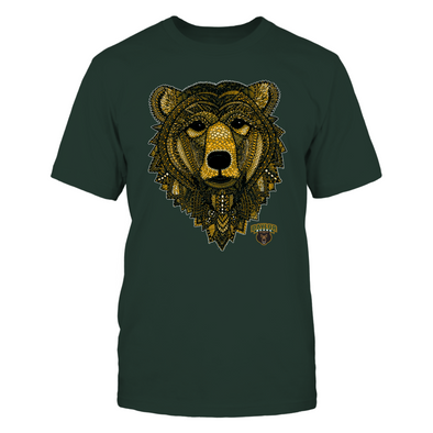 Baylor Bears - Mandala Mascot - Bear - T-Shirt - Officially Licensed Apparel