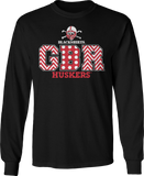 Patterned Letters - Nebraska Cornhuskers