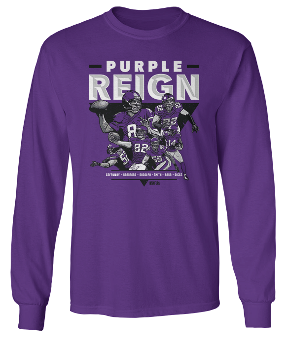 Purple Reign - Greenway, Bradford, Rudolph, Smith, Barr, Diggs