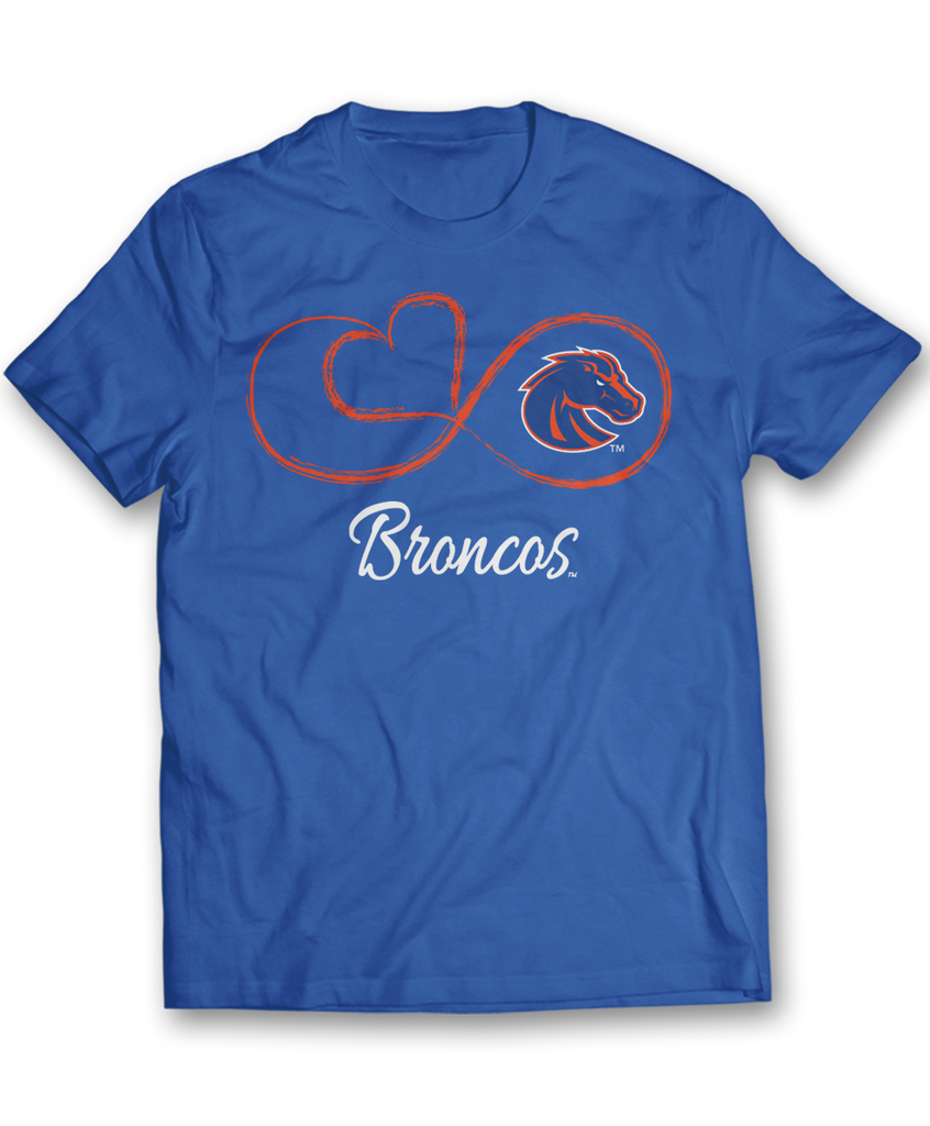 Infinite Heart - Boise State Broncos