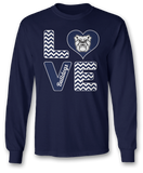 Stacked Love - Butler Bulldogs