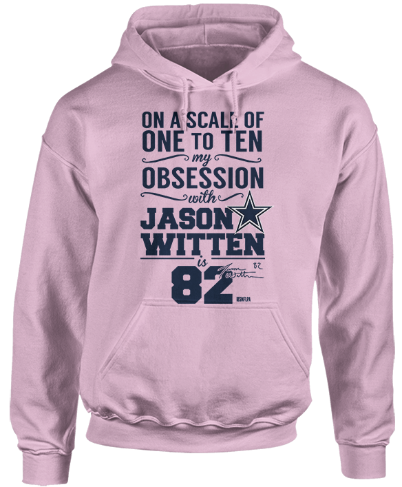 Jason Witten - Obsession From 1 to 10 is 82