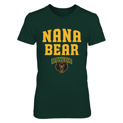 Baylor Bears - Nana Bear - Next Level Women's Junior Fit Premium T-Shirt - Official