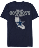 This Is Cowboys Country - California - Dallas Cowboys