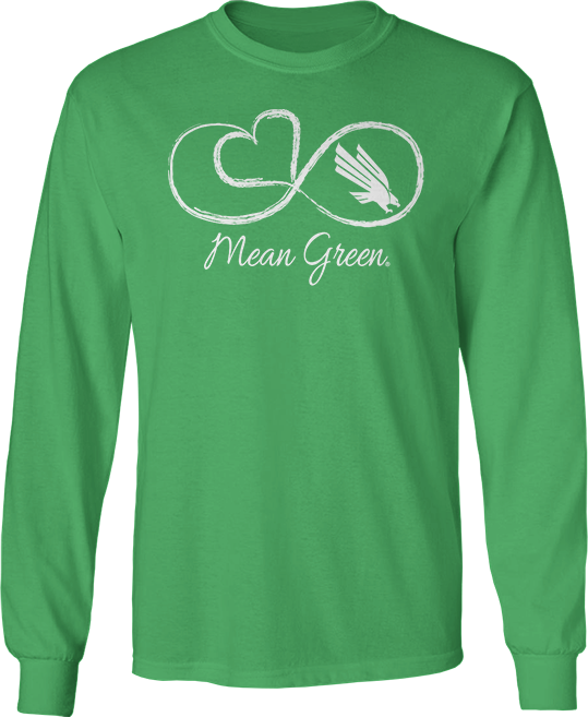 Infinite Heart - North Texas Mean Green
