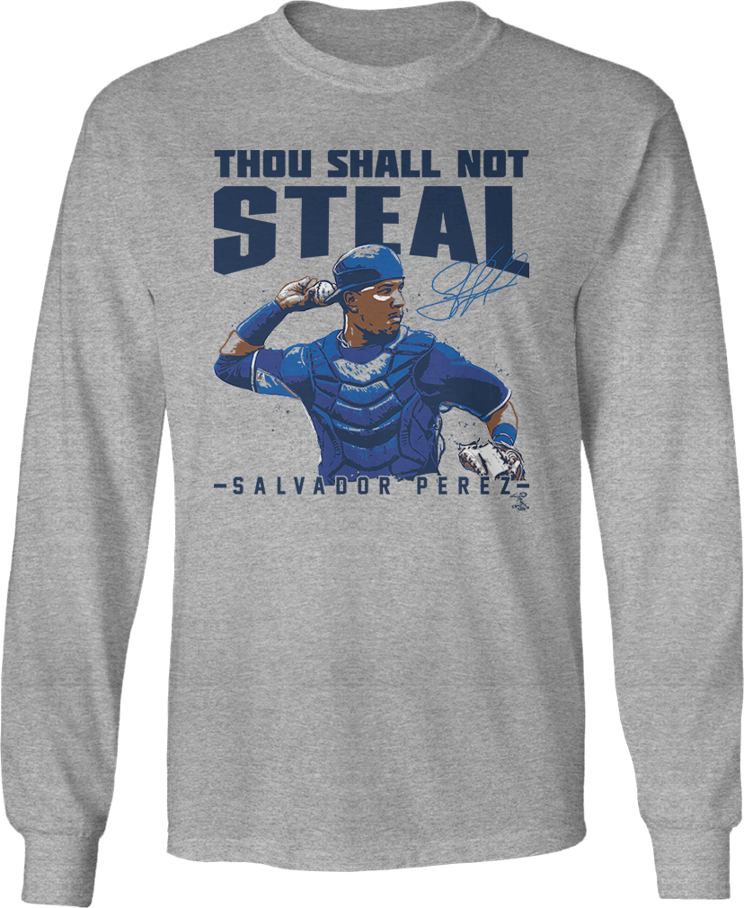 Thou Shall Not Steal - Salvador Perez