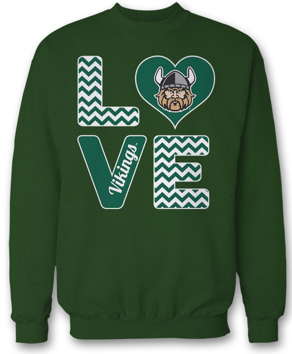 Stacked Love - Cleveland State Vikings