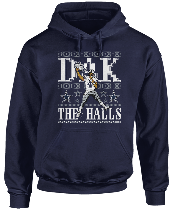 Dak The Halls (Ugly Sweater) - Dak Prescott