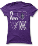 Stacked Love - Furman Paladins