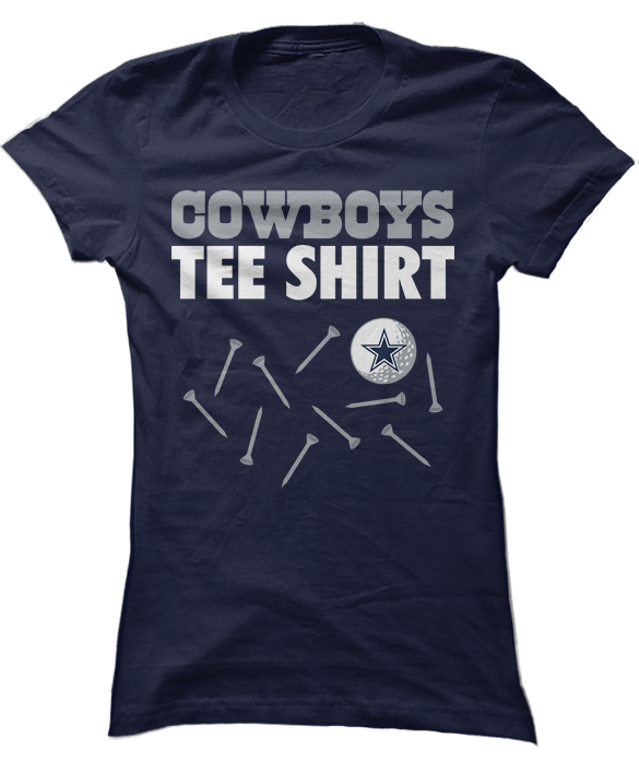 Golf Tee Shirt - Dallas Cowboys