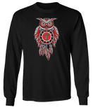 Sugar Skull Owl - Texas Tech Red Raiders