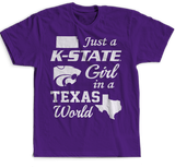 Kansas State Girl In A Texas World