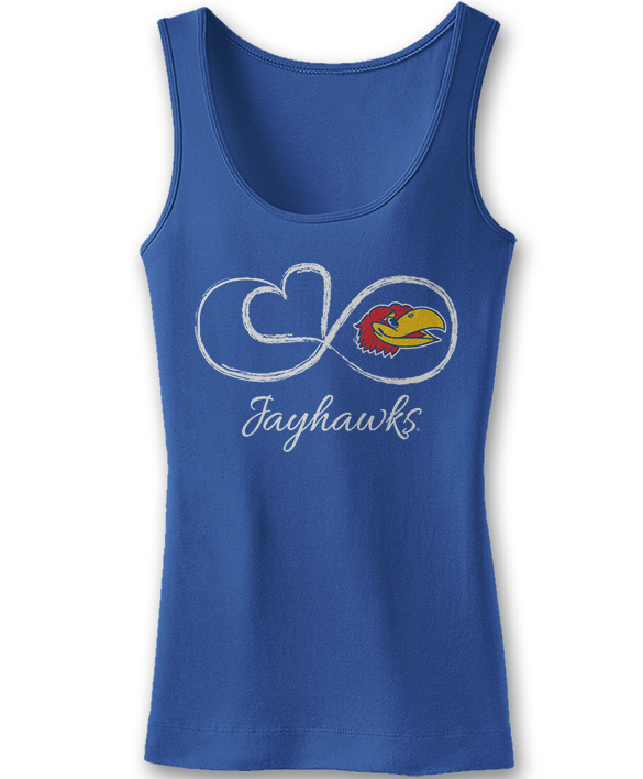 Infinite Heart - Kansas Jayhawks