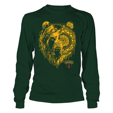 Baylor Bears - Mandala Bear - T-Shirt - Officially Licensed Sports Apparel