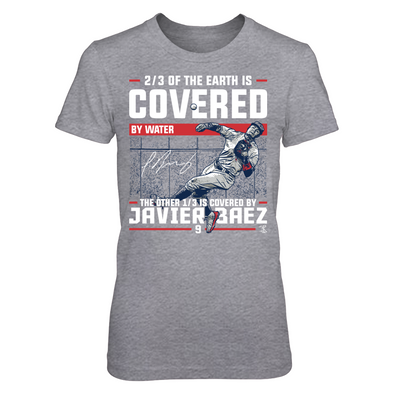 Covered By - Javier Baez - Next Level Women's Junior Fit Premium T-Shirt - Official