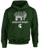 Patterned Elephant - Michigan State Spartans