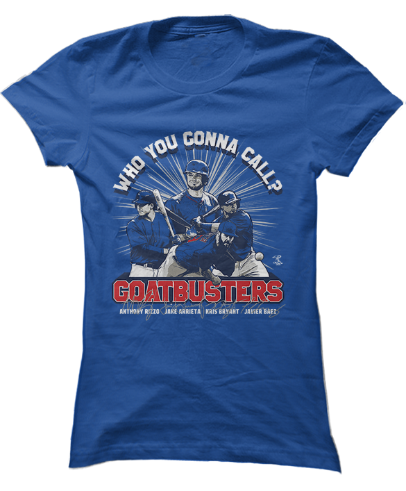 Who You Gonna Call? Goatbusters! - Rizzo, Arrieta, Bryant, Baez