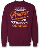 This Princess Loves Only The - Virginia Tech Hokies