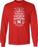Secret To A Happy Marriage Is Watching - Nebraska Cornhuskers