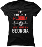 May Live Florida But My Heart Is In (EKG) - Georgia Bulldogs