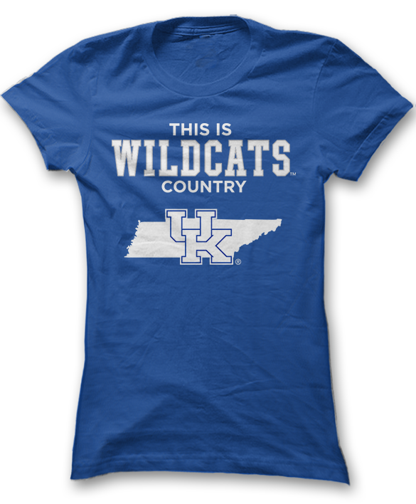 This Is Wildcats Country (Tennessee) - Kentucky Wildcats