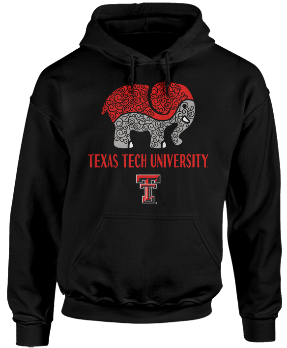 Patterned Elephant - Texas Tech Red Raiders
