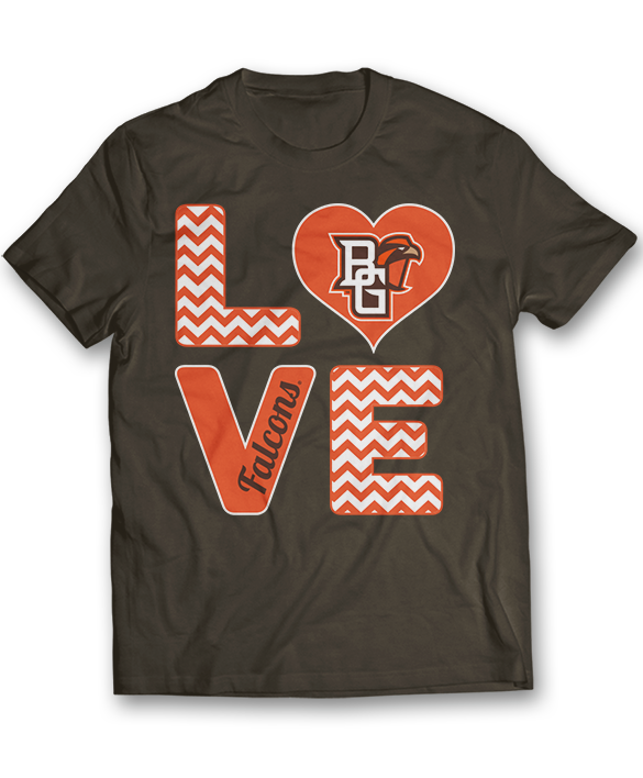 Stacked Love - Bowling Green Falcons