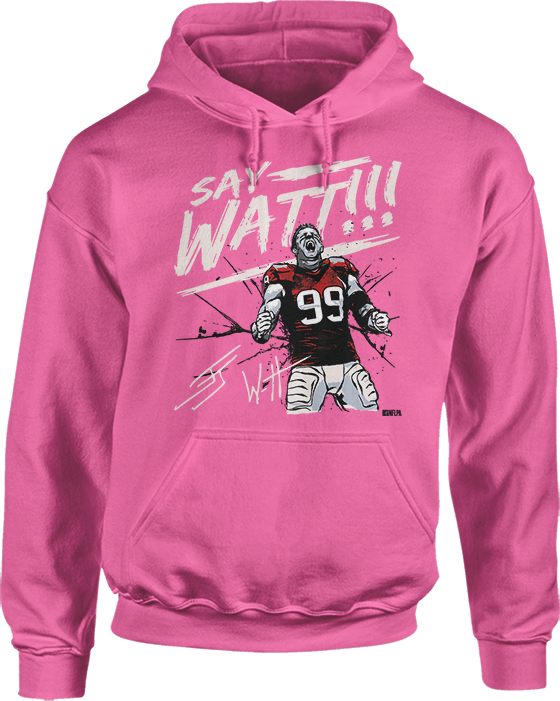 Say Watt! (Pink) - JJ Watt