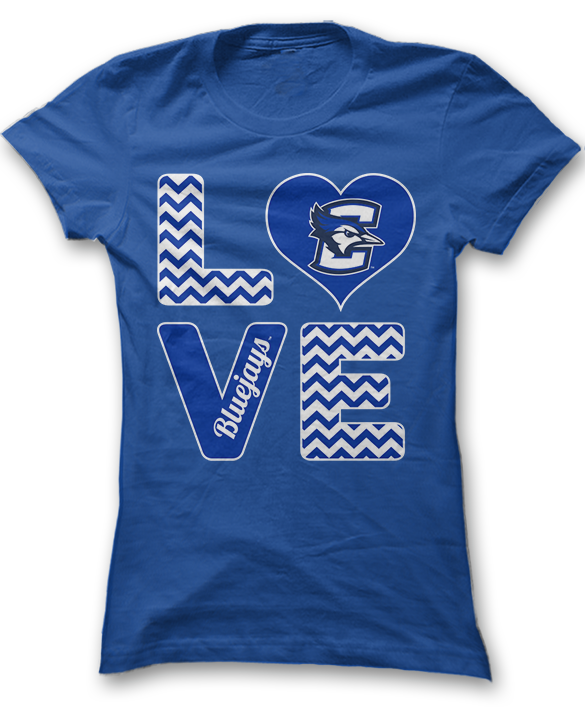 Stacked Love - Creighton Bluejays