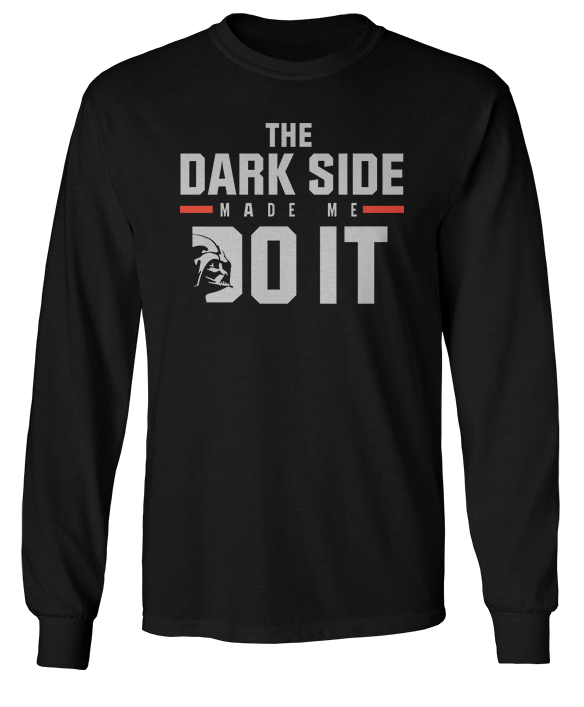 The Dark Side Made Me Do It