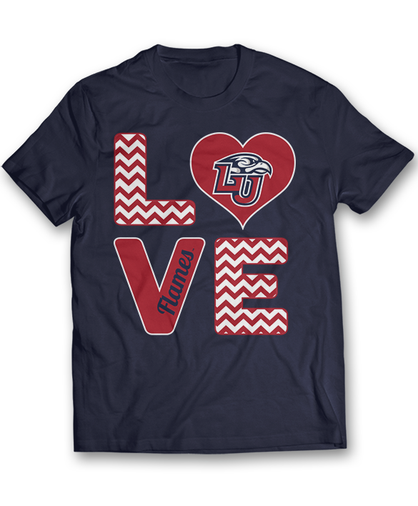 Stacked Love - Liberty Flames