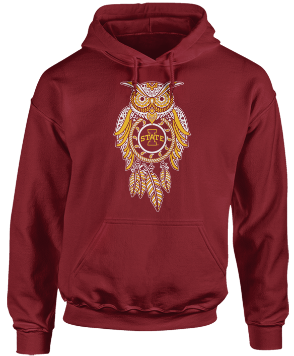 Sugar Skull Owl - Iowa State Cyclones