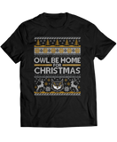 Owl Be Home For Christmas (Ugly Christmas Sweater)  - Kennesaw State Owls