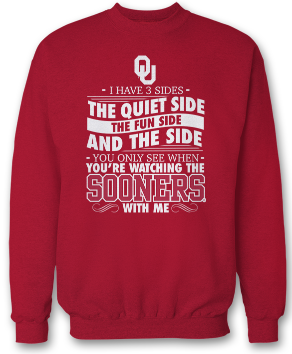 I Have 3 Sides - Oklahoma Sooners