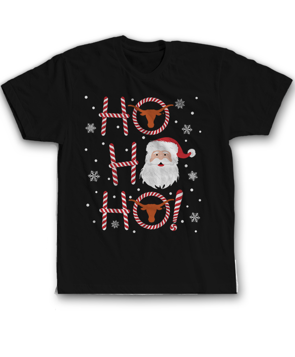 Ho Ho Ho - Texas Longhorns