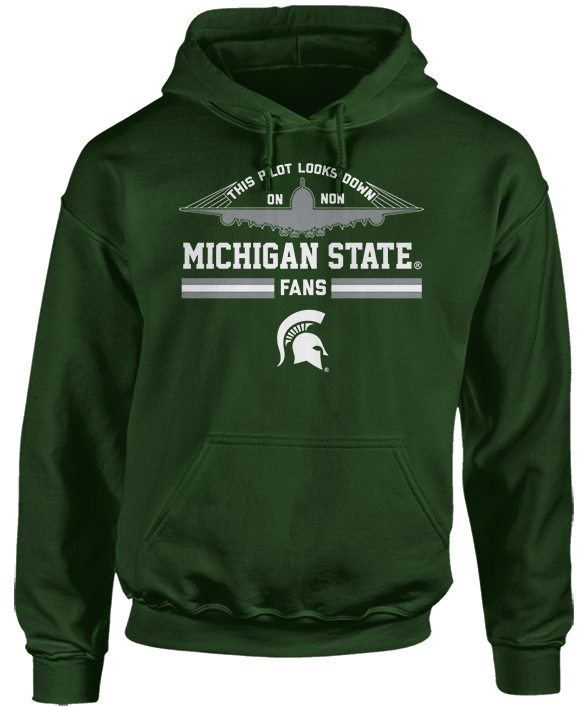 This Pilot Looks Down - Michigan State Spartans