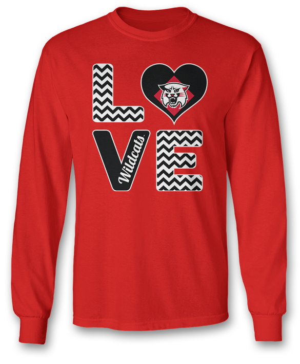 Stacked Love - Davidson Wildcats