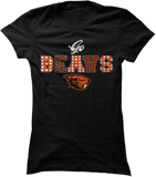 Patterned Letters (Go Beavs) - Oregon State Beavers