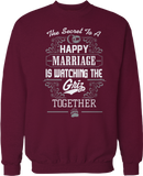 Secret To A Happy Marriage Is Watching - Montana Grizzlies