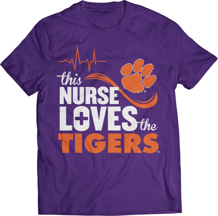 This Nurse Loves- Clemson Tigers