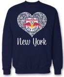 Lace Logo - New York Red Bulls
