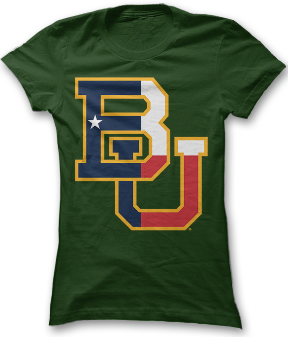 Texas Flag Pride - Baylor Bears