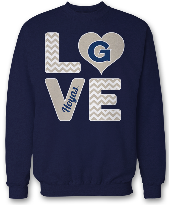 Stacked Love - Georgetown Hoyas