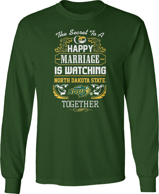 Secret To A Happy Marriage Is Watching - North Dakota State Bison